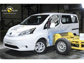 Nissan e-NV200 Evalia  - Side crash test 2014 - After Crash