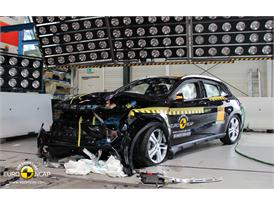 Mercedes-Benz GLA-Class - Frontal crash test 2014 - after crash