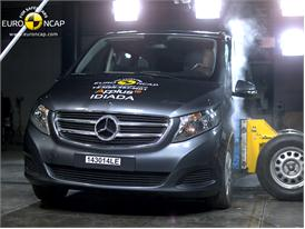Mercedes-Benz V-Class  - Side crash test 2014