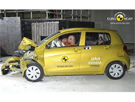 Suzuki Celerio - Frontal crash test 2014 - after crash