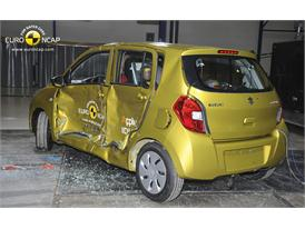 Suzuki Celerio  - Side crash test 2014