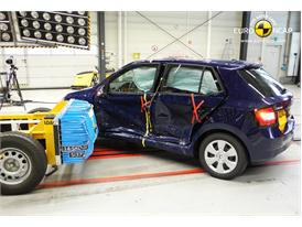 Skoda Fabia  - Side crash test 2014