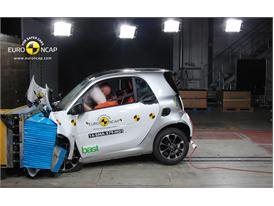 smart fortwo  - Frontal crash test 2014