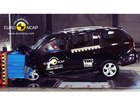 Dacia Logan MCV  - Frontal crash test 2014