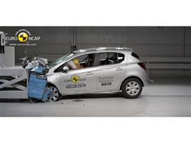 Opel/Vauxhall Corsa  - Frontal crash test 2014