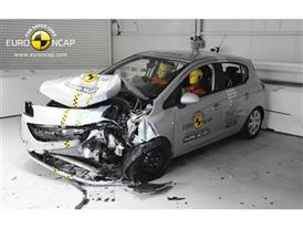 Opel/Vauxhall Corsa - Frontal crash test 2014 - after crash