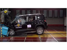 Jeep Renegade  - Frontal crash test 2014