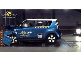 Kia Soul EV  - Frontal crash test 2014