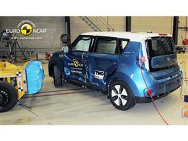 Kia Soul EV  - Side crash test 2014