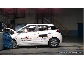 Hyundai i20  - Frontal Offset Impact test 2015