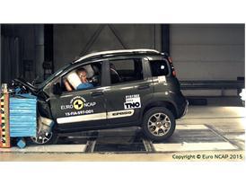 FIAT Panda Cross  - Frontal Offset Impact test 2015