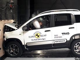 FIAT Panda Cross - Frontal Full Width test 2015