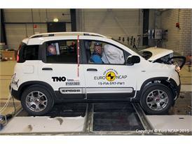 FIAT Panda Cross - Frontal Full Width test 2015 - after crash