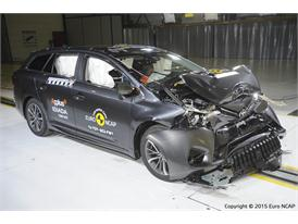 Toyota Avensis - Frontal Full Width test 2015 - after crash
