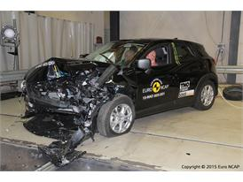 Mazda CX-3 - Frontal Offset Impact test 2015 - after crash