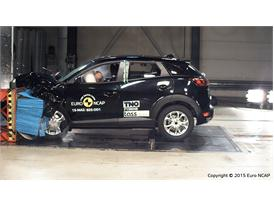 Mazda CX-3  - Frontal Offset Impact test 2015
