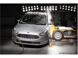 Ford Galaxy  - Side crash test 2015