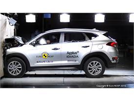 Hyundai Tucson - Frontal Full Width test 2015