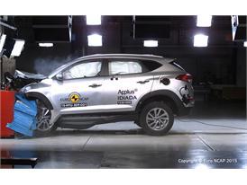 Hyundai Tucson  - Frontal Offset Impact test 2015