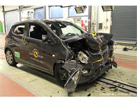 Opel/Vauxhall Karl - Frontal Full Width test 2015 - after crash