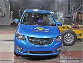 Opel/Vauxhall Karl  - Side crash test 2015