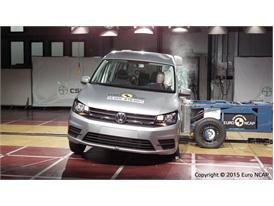 VW Caddy  - Side crash test 2015