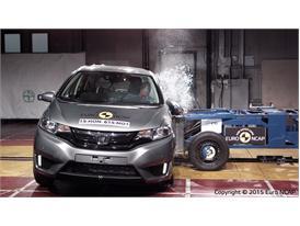 Honda Jazz - Side crash test 2015