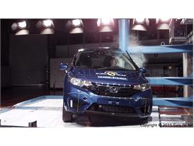 Honda Jazz  - Pole crash test 2015