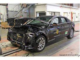 Audi A4 - Frontal Full Width test 2015 - after crash