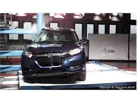 Honda HR-V - Pole crash test 2015