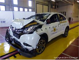 Honda HR-V - Frontal Full Width test 2015 - after crash