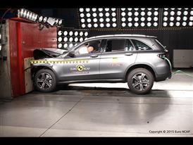 Mercedes-Benz GLC - Frontal Full Width test 2015