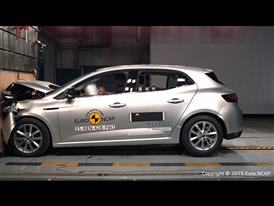 Renault Mégane - Frontal Full Width test 2015