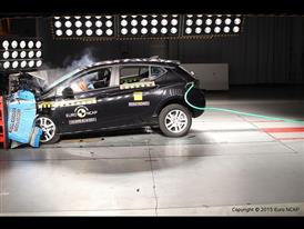 Opel-Vauxhall Astra  - Frontal Offset Impact test 2015