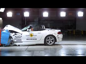 BMW Z4 - Frontal Offset Impact test 2015