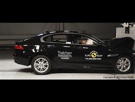 Jaguar XE - Frontal Full Width test 2015