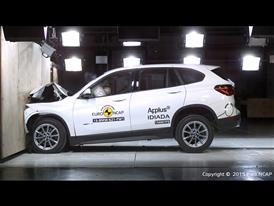 BMW X1- Frontal Full Width test 2015