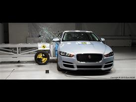 Jaguar XE  - Side crash test 2015