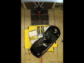 Lexus RX - Pole crash test 2015 - after crash