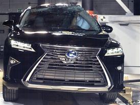 Lexus RX - Pole crash test 2015
