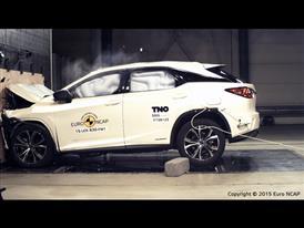 Lexus RX- Frontal Full Width test 2015