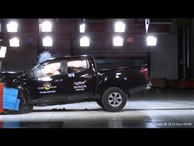 Nissan NP300 Navara - Frontal Offset Impact test 2015