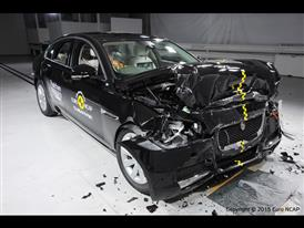 Jaguar XF - Frontal Full Width test 2015 - after crash