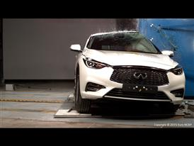 Infiniti Q30 - Pole crash test 2015