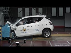 Lancia Ypsilon - Frontal Offset Impact test 2015