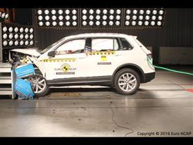 Volkswagen Tiguan- Frontal Offset Impact test 2016