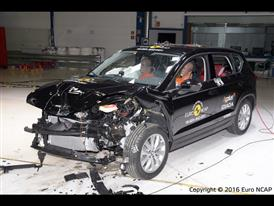 Seat Ateca - Frontal Offset Impact test 2016 - after crash