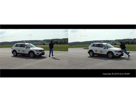 Volkswagen Tiguan - AEB Pedestrian test 2016