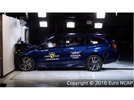 Subaru Levorg - Frontal Full Width test 2016