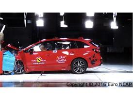 Subaru Levorg - Frontal Offset Impact test 2016